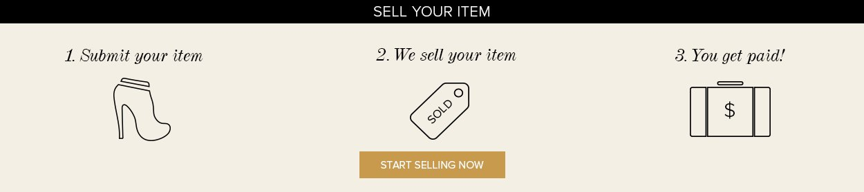 sell your item en