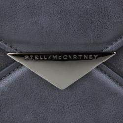 Stella McCartney Black Leather Flap Bag