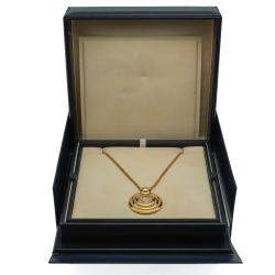 Chopard Happy Spirit Yellow Gold 7 Diamond Necklace