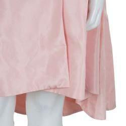 Baby Dior Rose Pink Silk Dress Coat 12 Yrs