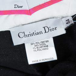 Baby Dior Black Sequinned Bow Detail Pants 5 Yrs