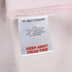 Dior Pink Side Stripe Detail Skinny Trousers 10 Yrs