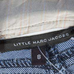 Little Marc Jacobs Indigo Denim Mini Skirt 8 Yrs