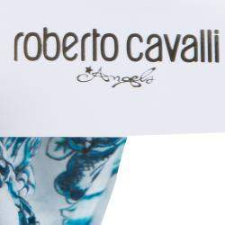 Roberto Cavalli Angels White Printed Tiered Maxi Dress 14 Yrs