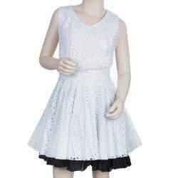 Roma e Tosca Black Cotton Skirt 14 Yrs
