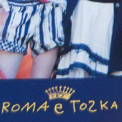 Roma e Tosca White Lace Trim Tshirt 6 Yrs