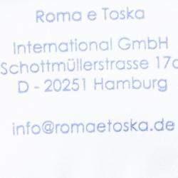 Roma e Tosca Light Grey Melange Tshirt 8 Yrs