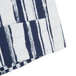 Roma e Tosca Blue & White Striped Adjustable Shorts 12 Yrs