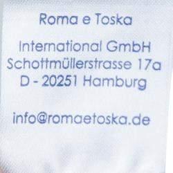 Roma e Tosca Beige New York Printed Silk Tunic Dress 10 Yrs
