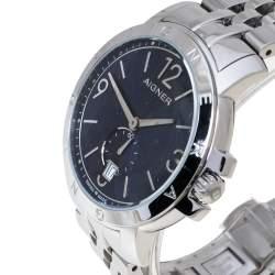 Aigner Blue Stainless Steel Triento A09000 Men's Wristwatch 41 mm