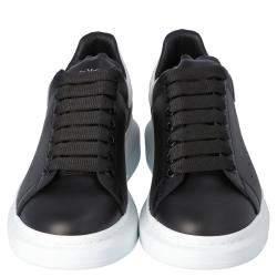 Alexander McQueen Black Oversized Runner Sneakers Size EU 40