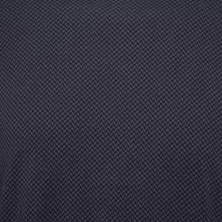 تي شيرت أرماني كوليزوني أكمام طويلة و رقبة مستديرة تريكو نمط متعرج رصاصي داكن مقاس كبير جداً (اكس لارج)