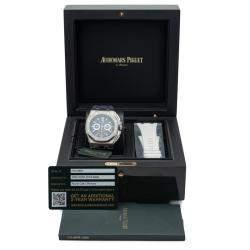 Audemars Piguet Blue Dial Titanium Royal Oak Offshore Chronograph Men's Watch 42MM