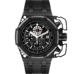 Audemars Piguet Black Titanium And Ceramic Royal Oak Offshore Survivor Chronograph 26165IO Men's Wristwatch 42 MM
