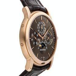 Audemars Piguet Brown 18K Rose Gold Jules Audemars Perpetual Calendar 26390OR.OO.D093CR.01 Men's Wristwatch 41 MM