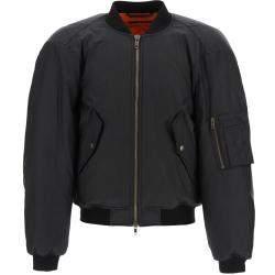 Balenciaga Black Steroid Bomber Jacket Size EU 46