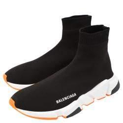 Balenciaga White Speed Trainers Size 44