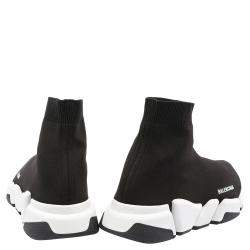 Balenciaga Speed 2.0 Black/White Trainers Size EU 39