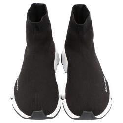 Balenciaga Speed 2.0 Black/White Trainers Size EU 43