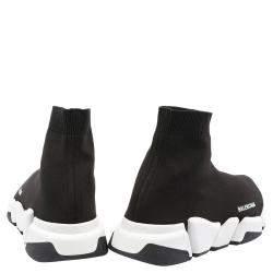 Balenciaga Speed 2.0 Black/White Trainers Size EU 44