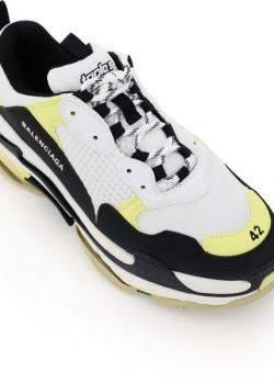 Balenciaga Multicolor Triple S Sneakers Size EU 43