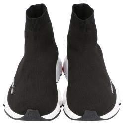 حذاء رياضي بالنسياغا سبيد تريكو أسود مقاس أوروبي 41