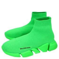حذاء رياضي بالنسياغا سبيد 2.0 جلد أخضر فلو مقاس أوروبي 42