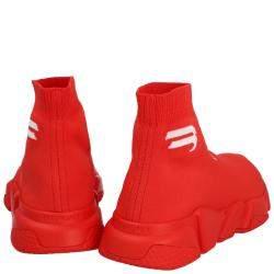 حذاء رياضي بالنسياغا رجالي مينز انتنس أحمر مقاس EU 42