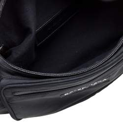 Balenciaga Black Nylon Explorer Belt Bag