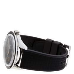 Bell & Ross Black Stainless Steel Sports Heritage BR123-93 Vintage Men's Wristwatch 43 MM