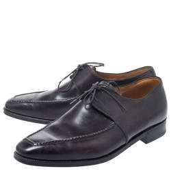 Berluti Black Leather Derby Size 40.5