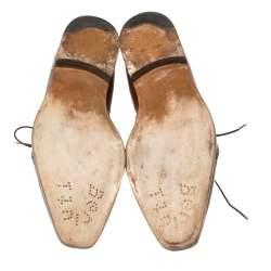 Berluti Brown Leather Oxford Size 42