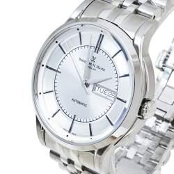 Bernhard H. Mayer Silver Stainless Steel Chronos Limited Edition Men's Wristwatch 42 mm