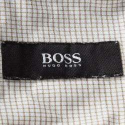 Boss By Hugo Boss Multicolor Checked Long Sleeve Button Front Shirt XL