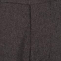 Boss By Hugo Boss Grey Wool Blend Tailored Trousers XXL