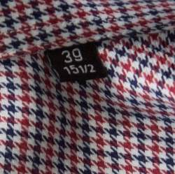 Boss By Hugo Boss Multicolor Houndstooth Printed Cotton Dwayne Slim Fit Shirt M