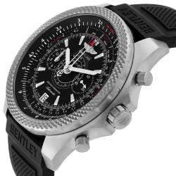 Breitling Black Titanium Bentley Super Sports E27365 Men's Wristwatch 49 MM