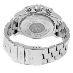 """ساعة يد رجالية بريتلينغ """"افينغير سكايلاند ايه13380"""" ستانلس ستيل زرقاء 45 مم"""
