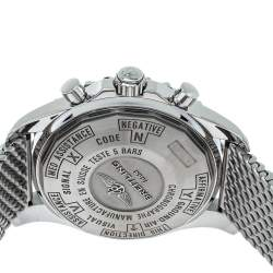 Breitling Grey Stainless Steel Chronospace A78365 Men's Wristwatch 48 mm