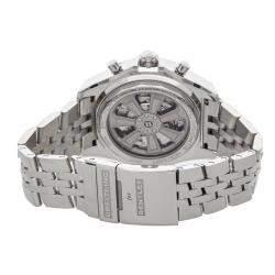 ساعة يد رجالية بريتلينغ بنتلي بي06 أيه بي061112/بي دي80 ستانلس ستيل سوداء 49 مم
