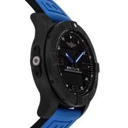 ساعة يد رجالية بريتلينغ بروفيشنال أكسوسبيس بي55 في بي5510أتش2/بي أيه45 تيتانيوم سوداء 46 مم