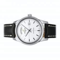 ساعة يد رجالية بريتلينغ ترانس أوشن داي آند ديت A4531012 / G751 ستانلس ستيل فضية 43 مم