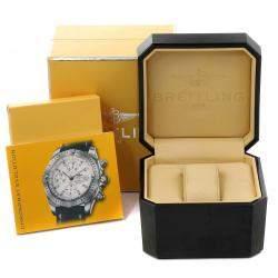 ساعة يد رجالية بريتلينغ كرونومات إيفولوشن A13356 ستانلس ستيل زرقاء 44 مم