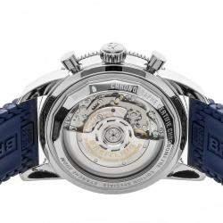 ساعة يد رجالية بريتلينغ سوبر أوشن هيريتاج  كرونوغراف II AB0162161C1S1 ستانلس ستيل زرقاء 44 مم