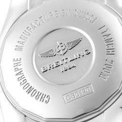 ساعة يد رجالية بريتلينغ كرونومات إيفولوشن CB0420 ذهب وردي عيار 18 وستانلس ستيل فضية 44 مم