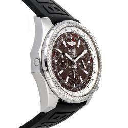 ساعة يد رجالية بريتلينغ بنتلي 6.75 سبيدد A4436212 / Q504 ستانلس ستيل بنية 49 مم