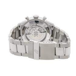 ساعة يد رجالية بريتلينغ نافي تايمر 8 B01 كرونوغراف AB0117131C1A1 ستانلس ستيل زرقاء 43 مم