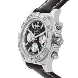 Breitling Black Stainless Steel Chronomat AB011012/B967 Men's Wristwatch 44 MM