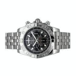 Breitling Grey Stainless Steel Chronomat AB014012/F554 Men's Wristwatch 41 MM