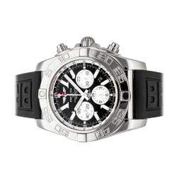 Breitling Black Stainless Steel Chronomat GMT AB041012/BA69 Men's Wristwatch 47 MM